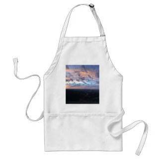 Los Angeles Sunrise off Mulholland Dr Adult Apron