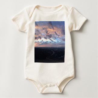 Los Angeles Sunrise off Mulholland Dr Baby Bodysuit
