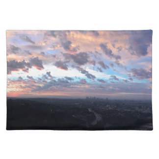 Los Angeles Sunrise off Mulholland Dr Placemat