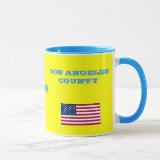 LOS ÁNGELES * taza de café del condado