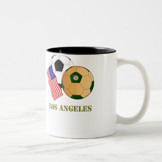 Los Ángeles Taza De Dos Tonos