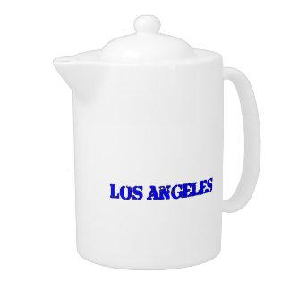 Los Angeles Teapot
