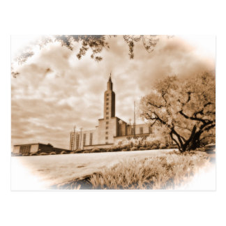 Los Angeles Temple post card.