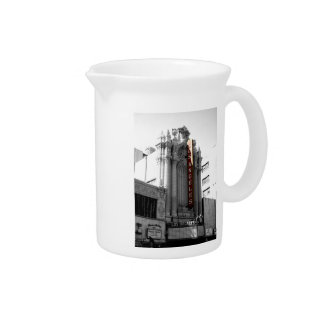 Los Angeles Theater Beverage Pitcher