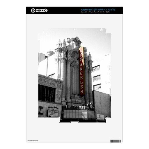 Los Angeles Theater iPad 3 Decals