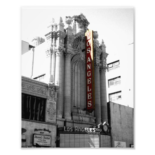 Los Angeles Theater Photographic Print