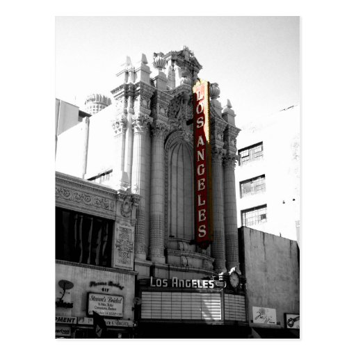 Los Angeles Theater Post Card