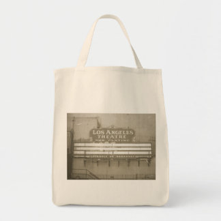 Los Angeles Theatre Sign Tote Bags
