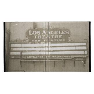 Los Angeles Theatre Sign iPad Folio Cases