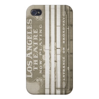 Los Angeles Theatre Sign iPhone 4/4S Cover