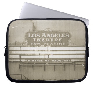 Los Angeles Theatre Sign Laptop Computer Sleeves