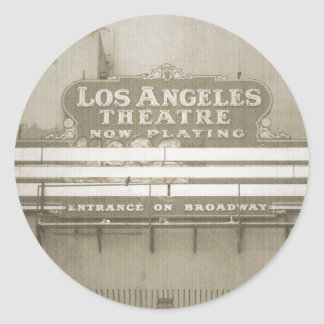 Los Angeles Theatre Sign Stickers