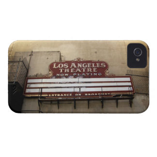 Los Angeles Theatre Vintage Sign iPhone 4 Cover