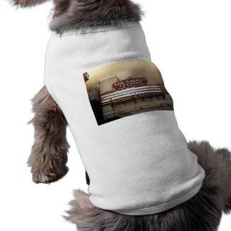 Los Angeles Theatre Vintage Sign Dog Tshirt