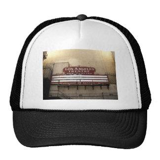 Los Angeles Theatre Vintage Sign Mesh Hats
