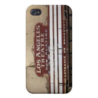 Los Angeles Theatre Vintage Sign iPhone 4/4S Covers