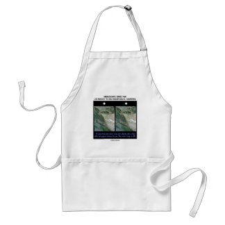 Los Angeles To San Joaquin Valley, California Adult Apron