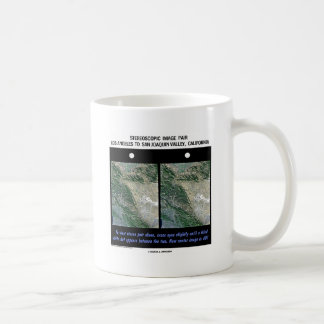 Los Angeles To San Joaquin Valley, California Coffee Mug