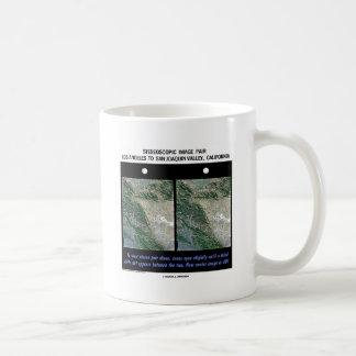 Los Angeles To San Joaquin Valley, California Basic White Mug