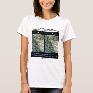 Los Angeles To San Joaquin Valley, California T-Shirt
