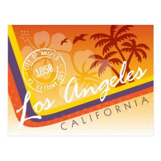 Los Angeles Tropical Postcard