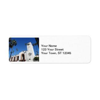 Los Angeles Union Station Label