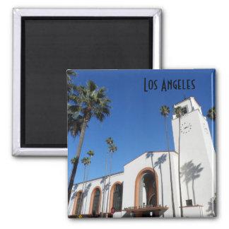 Los Angeles Union Station Fridge Magnet