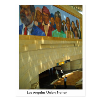 """Los Angeles Union Station"" Postcard"