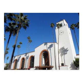 Los Angeles Union Station Postcard