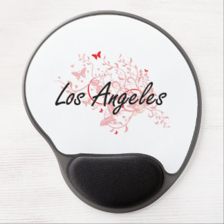 Los Angeles United States City Artistic design wit Gel Mouse Pad