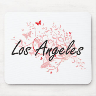 Los Angeles United States City Artistic design wit Mouse Pad