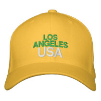 Los Angeles USA Embroidered Baseball Hat