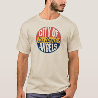 Los Angeles Vintage Label T-Shirt