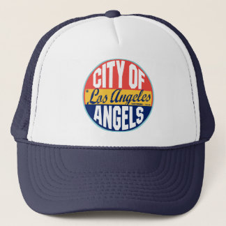 Los Angeles Vintage Label Trucker Hat