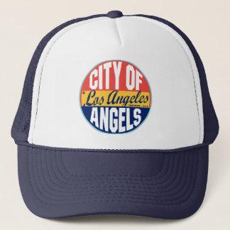 Los Angeles Vintage Label Trucker Hat