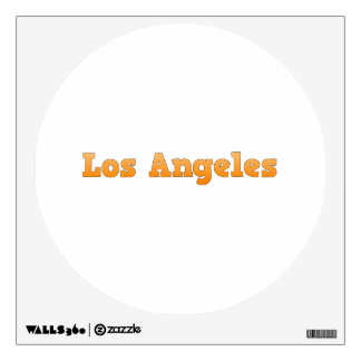 Los Angeles Wall Decal