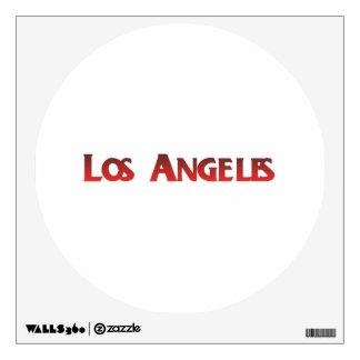 Los Angeles Wall Sticker