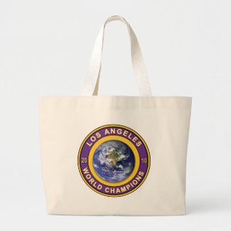 Los Angeles World Champions Large Tote Bag