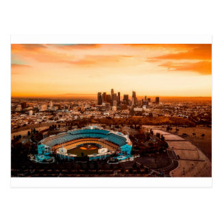 Los Angles Stadium Postcard