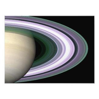Los anillos de Saturn Fotografía