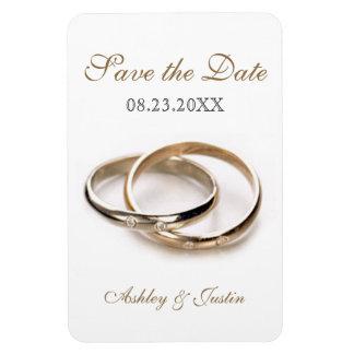 Los anillos entrelazados ahorran el imán del premi