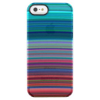 Los anillos ultravioletas de Saturn Funda Clear Para iPhone SE/5/5s