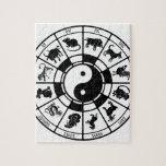 Los animales chinos del zodiaco puzzle
