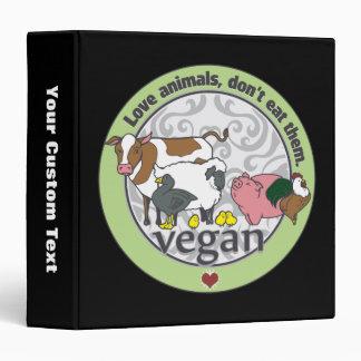 Los animales del amor no los comen vegano