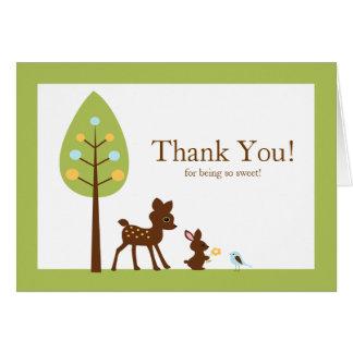 Los animales del arbolado le agradecen tarjeta de