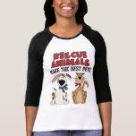 Los animales del rescate hacen los mejores camisetas