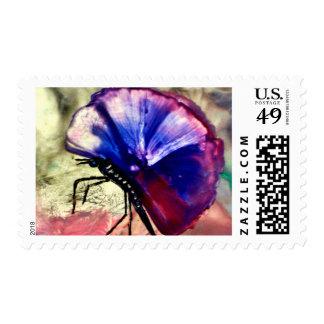 Los animales, mariposa, polilla, lepidópteros, sello postal