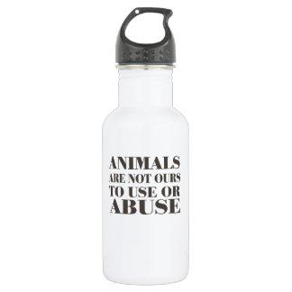 Los animales no son los nuestros a utilizar o a