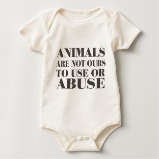 Los animales no son los nuestros a utilizar o a mameluco