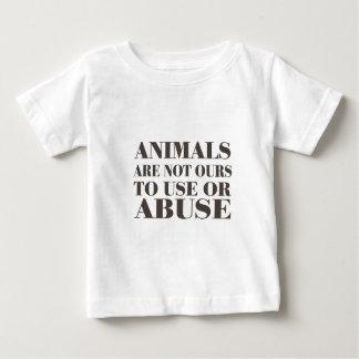 Los animales no son los nuestros a utilizar o a playeras